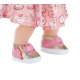 Buciki dla lalki Baby Annabell w kolorze różowym