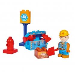 KLocki Bob Budowniczy zestaw narzędziowy 10 elem z Figurką