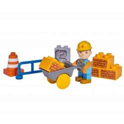 KLocki Bob Budowniczy zestaw budowlany 10 elem z Figurką