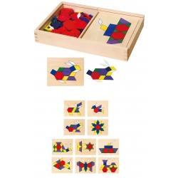 Viga Toys układanka Mozaika geometryczna