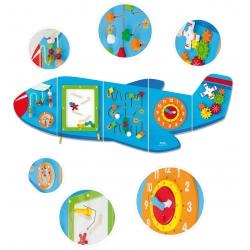 Viga Toys Sensoryczna Tablica Manipulacyjna Samolot