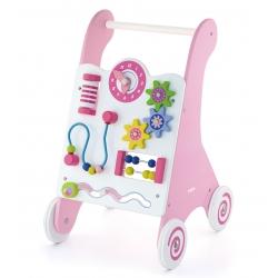 Viga Toys chodzik Pink drewniany