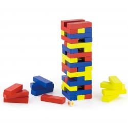 Drewniana gra Jenga Viga Toys