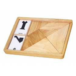Drewniana układanka 7 elementów Viga Toys