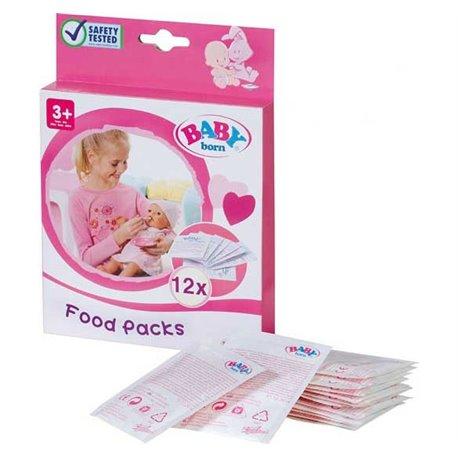BABY BORN Pokarm dla lalki 12 sztuk