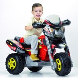 Feber Trójkołowy Motocykl na akumulator 6V Trimoto Racer