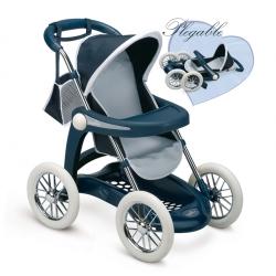 Głęboki wózek dla lalek Chuli Max Pilante Smoby Inglesina