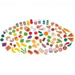 KIDKRAFT Zabawkowe Przekąski Szefa Kuchni 115 elementów
