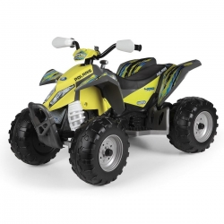 Peg Perego Quad Na Akumulator 12V Polaris Outlaw Citrus