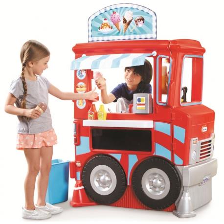 Kuchnia furgonetka Lodziarnia Little Tikes Food Truck 2 w 1