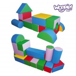 Woopie Zestaw Mini klocków piankowych 25 elementów