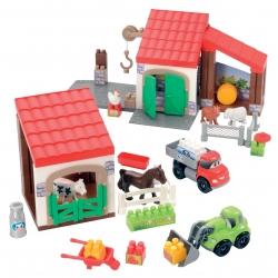 Ecoiffier Abrick Farma ze zwierzętami