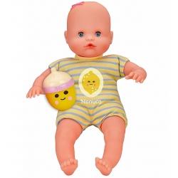 Nenuco Pachnąca Lalka z buteleczką grzechotką 30 cm Niebieska