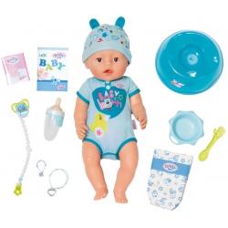 Baby Born Interaktywna lalka Soft Touch 43cm 9 funkcji chłopiec
