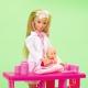 Simba Lalka Steffi Love pediatra z bobasami 17 akc.