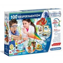 CLEMENTONI 100 Eksperymentów Naukowa Zabawa