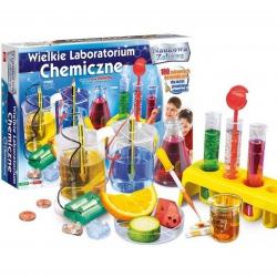 Clementoni Wielkie Laboratorim Chemiczne 180 doświadczeń naukowych