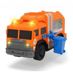 Śmieciarka pomarańczowa Dickie.