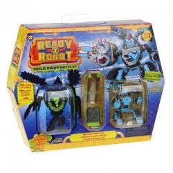 Ready2Robot Robot Double Trouble niespodzianka w kuli z akcesoriami