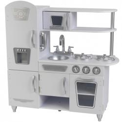 KidKraft Drewniana kuchnia piekarnik lodówka z kostkarką