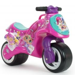 INJUSA Różowy Motor Pchacz Jeździk Shimmer i Shine