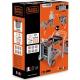 Smoby Black & Decker Wózek Warsztat Skrzynka z Narzędziami 3w1 Złota Rączka
