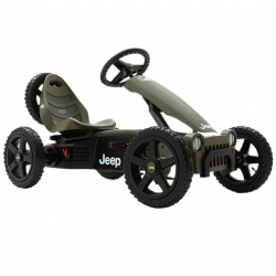 BERG Gokart Jeep® Adventure Pompowane koła 4-12 lat do 60 kg