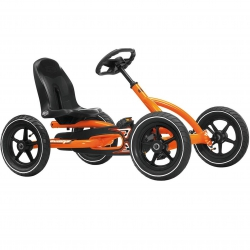 BERG Gokart na pedały Buddy 3-8 lat Orange do 50 kg