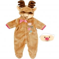 Ubranko kombinezon Renifer dla lalki Baby Annabell