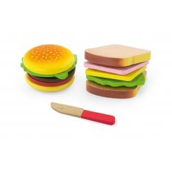 Zestaw Do Krojenia Viga Hamburger i Kanapka
