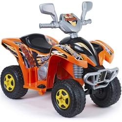Feber Pomarańczowy Quad Freeride na akumulator 6V