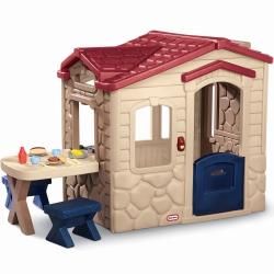 Little Tikes ogrodowy Domek Piknikowy z Patio z magicznym dzwonkiem