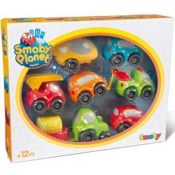 Smoby Vroom Planet Zestaw Pojazdów do Garażu