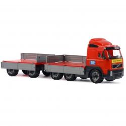 Wader QT Volvo Ciężarówka z przyczepą Otwierane burty