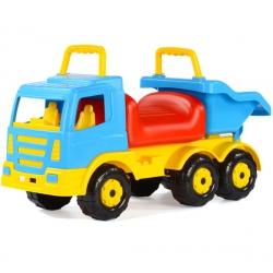 Jeździk pchacz Wader QT ciężarówka z wywrotką Premium