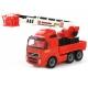 Wader Ogromny wóz strażacki z wysięgnikiem 80cm