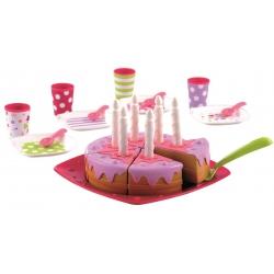 Smoby - Ecoiffier Tort urodzinowy z akcesoriami PARTY kids
