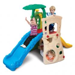 Dwupoziomowy Plac zabaw ze zjeżdżalniami Dżungla Grow'n Up