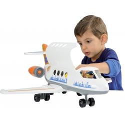 Ecoiffier Abrick Samolot Happy Jet z figurkami