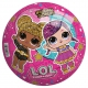 L.O.L. SURPRISE piłka 23 cm perłowa Glitter - Pakiet 100 sztuk