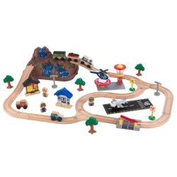 KidKraft Drewniana Kolejka Pociąg w Pudełku
