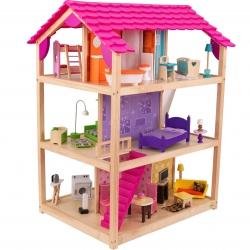 KidKraft Duży Drewniany Domek Dla Lalek
