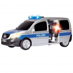 Mercedes Benz Samochód Policyjny Radiowóz Światło Dźwięk