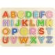 Drewniana Tabliczka Edukacyjna Masterkidz Alfabet Wielkie Literki