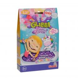 Simba Glibbi Glitter Połyskująca masa do kąpieli Glitter
