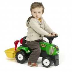 FALK Jeździk Traktor Pchacz Kosz Akcesoria 1-3 Lat do 30 kg