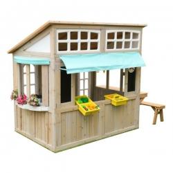 Domek Ogrodowy dla Dzieci Drewniany Kidkraft Meadowlane Market