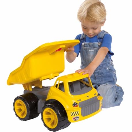 Big Jeździk Ciężarówka Maxi Truck samochód do piachu, przedszkola, domu... CICHE KOŁA
