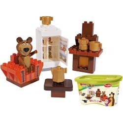 Klocki PlayBIG MASZA i NIEDŹWIEDŹ Pokój Niedźwiedzia