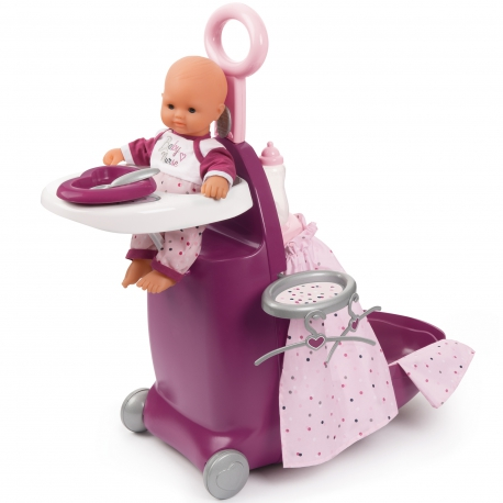 Smoby Opiekunka Baby Nurse Walizka 3w1